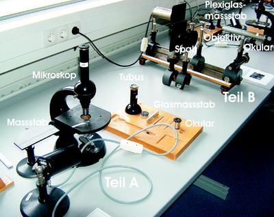 Lp u das mikroskop